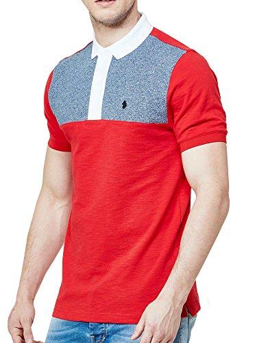 Luke 1977 Herren Poloshirt Marina Red Mix