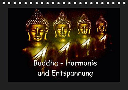 Buddha - Harmonie und Entspannung (Tischkalender 2019 DIN A5 quer): Buddha symbolisiert Harmonie, Ausgeglichenheit und Entspannung (Monatskalender, 14 Seiten ) (CALVENDO Glaube)