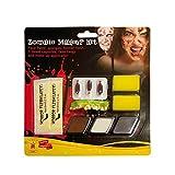 Rubies Kit Maquillaje Zombie para Hombre Talla única Rubie'S Spain 33668
