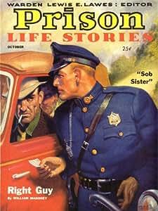 MAGAZINE STORIES PRISON LIFE MAHONEY POLICE ART POSTER PRINT 18x24 INCH LV2074