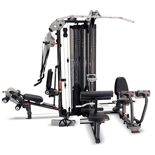 51MLwOnZ5GL. SS500  - Inspire Fitness M5 Multi Gym - Fitness, Workout, Strengthen Muscle, Gym, Home, Aluminium, Revolving Lat Bar, L Shape Design, Commercial Use, Isolation Movements, Heavy Duty Tubular Steel Frame, Maintenance Free, Abdominal Bar