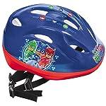 Mondo-Mondo-28505-Pj-Masks-Toys-Casco-Bici-per-Bambini-Design-Masks-28505-Colore-RossoBlu-28505