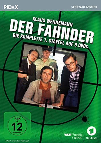 Der Fahnder, Staffel 1 / Die ersten 24 Folgen der preisgekrönten Kult-Krimiserie (Pidax Serien-Klassiker) [6 DVDs]