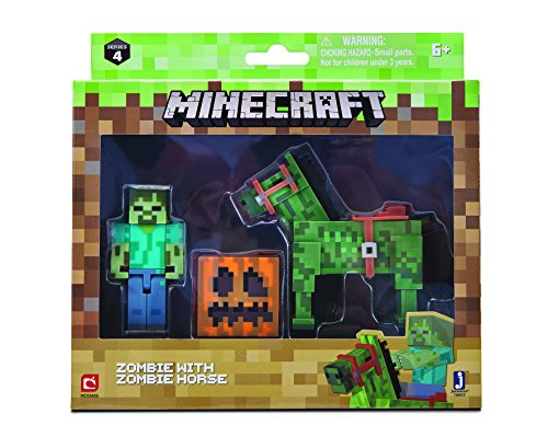 Minecraft 16603 Zombie Pferd, unisex-child