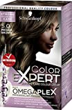 Schwarzkopf Color Expert Omegaplex Hair Dye, 5-0 Medium Brown