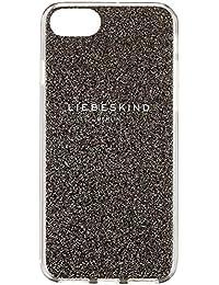Liebeskind Berlin Damen Mobile Cap - Bumper Iphone7+8 Taschenorganizer, Silber (Warm Silver), 1x14x7 cm