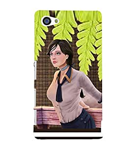 PRINTSWAG BEAUTIFUL GIRL Designer Back Cover Case for SONY XPERIA Z5 MINI
