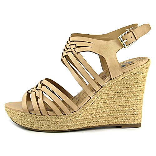 G By Guess Eileen Synthétique Sandales Compensés Light Natural