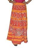 Tie Dye Long Wrap Skirt Sarong Wrap arou...
