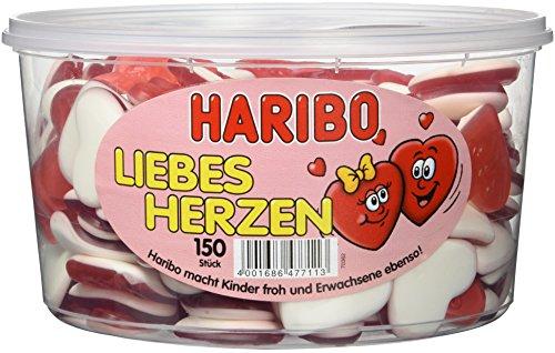 Haribo Liebesherzen, 3er Pack (3 x 1,2 kg)