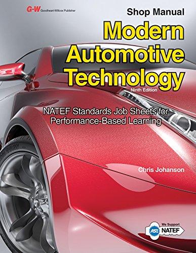Modern Automotive Technology Shop Manual PDF Books