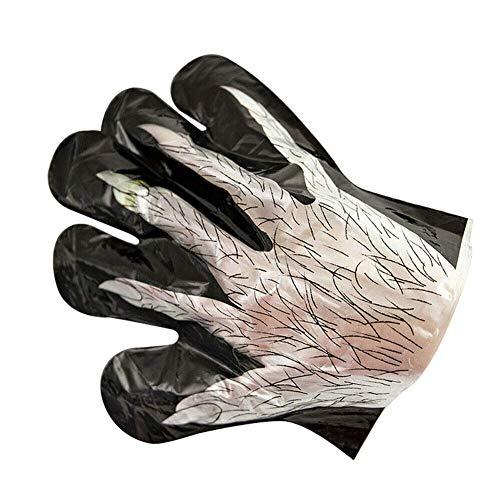 gfhjgjhj LED Leuchtend Handschuhe, Halloween Fluoreszierend Handschuhe, Blink Party Licht Handschuhe, für Halloween Karneval oder Thema Partys Diskothek Kostüm Requisiten - 4 - Umwelt Themen Kostüm