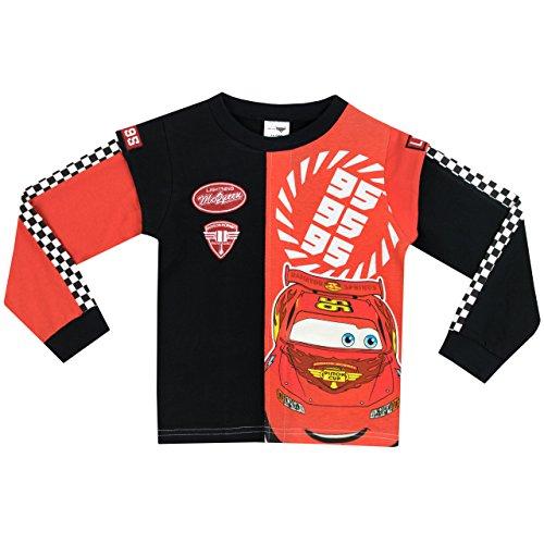 Image of Disney Cars Boys Cars Lightning McQueen Pyjamas Age 3 to 4 Years