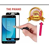 The PIKANO Edge To Edge Tempered Glass Screen Protector For Samsung Galaxy J7 Prime (Black)