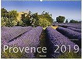 Provence 2019 - Frankreich - France - Bildkalender quer (56 x 42) - Landschaftskalender