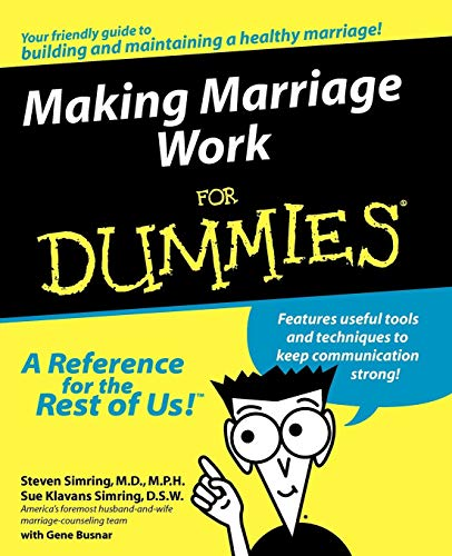 Making Marriage Work For Dummi (For Dummies) por Simring