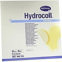 HYDROCOLL sacral Wundverband 12x18 cm 5 St Kompressen preisvergleich bei billige-tabletten.eu