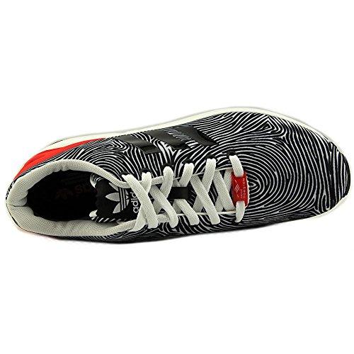 Adidas Zx Flux Synthetic Laufschuhe Ftwht/Cblack/Tomato