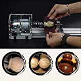 DIY Holzbearbeitung Mini Drehmaschine Perlen Polierer Tisch Säge Schneidbohrer Rotary Tool