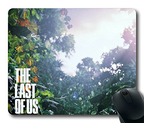 Hot Sale Personalized Custom Mouse Pad Oblong Shaped the Last of Us Scenery Gaming Mousepad