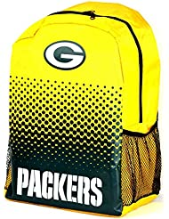 Forever Collectibles NFL Green Bay Packers Fade Backpack