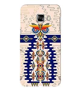 EPICCASE trendy angry bird Mobile Back Case Cover For Samsung C5 (Designer Case)