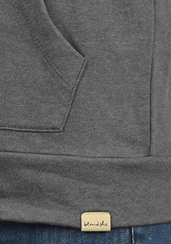 BLEND SHE Karla 20200623ME - Pull zippé - Femme Anthracite