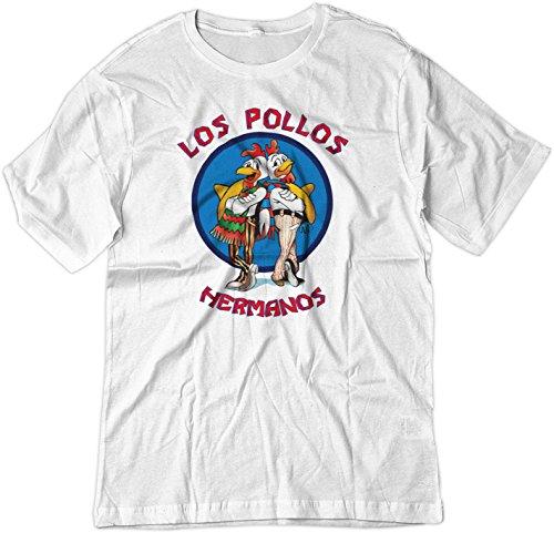 BSW Men's Los Pollos Hermanos Fried Chicken Breaking Bad Shirt