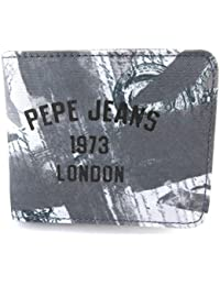 Pepe Jeans [M7895] - Portefeuille italien 'Pepe Jeans' gris