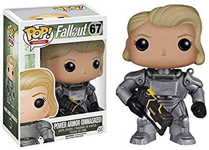 Fallout 4 - Female Power Armor Unmasked Vinyl F...