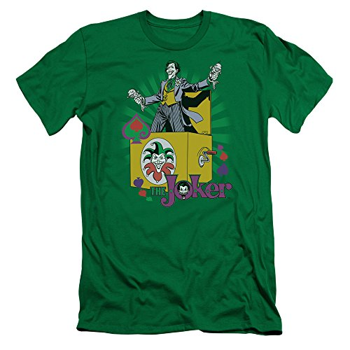 DC Comics Herren T-Shirt Kelly Green