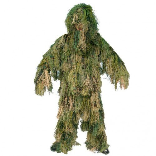 Ghillie Suit Anti-Fire 4 Teilig