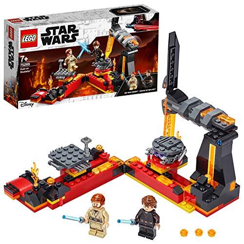 LEGO75269StarWarsDuelonMustafarRevengeoftheSithPlayset withLukeSkywalkerandObi-WanKenobiMinifigures