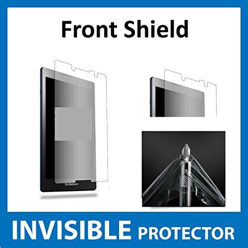 Lenovo Tab 2A8Tablet Displayschutzfolie Vorderseite unsichtbar Folie (vor Shield) Military Grade Schutz Exklusive zu Ace Fall