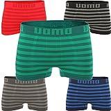 6er Pack Herren Boxershorts Pants Unterhose Schlüpfer Slip Boxer CL 11 (L / XL, 6er Pack Streifen)