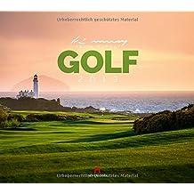 Golf 2019, Wandkalender mit Golfplätzen der Welt im Querformat (54x48 cm) - Landschaftskalender / Naturkalender mit Monatskalendarium