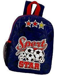 Preisvergleich für Kinderrucksack SPORT STAR 410 Mini Kinder Rucksack mit Brustgurt Adressfach Kindergartentasche