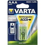 VARTA-power batterie portable micro pour téléphones sans fil-batterie 2 x aAA lR3
