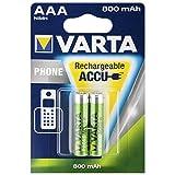 VARTA-Akku Phone Power Micro für Schnurlostelefone 2er AAA LR3 Akku