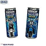 2x Energydrink SIMSON - Sammler Edition Dose - 1x 250ml Schwalbe Energy - 1x 250ml S51 Energy - (Liter 9,98 €)