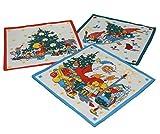 Betz 12 Stück Kinder Stoff Taschentücher