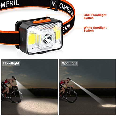 Zoom IMG-2 omeril lampada frontale led usb