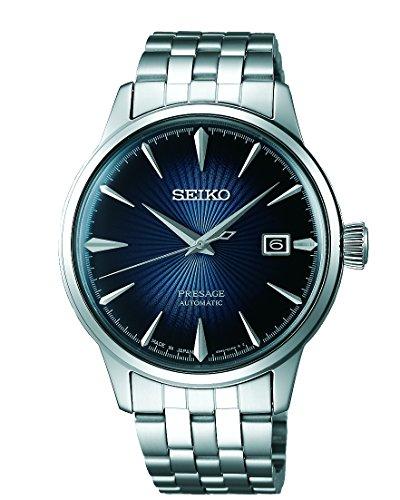 Seiko Analog Blue Dial Men's Watch-SRPB41J1