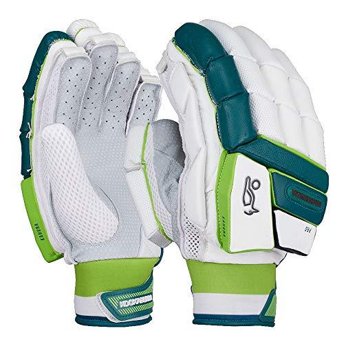 KOOKABURRA 2019 Kahuna Pro Cricket-Handschuhe, weiß/blau/grün, weiß, Left Hand Over Size Adult