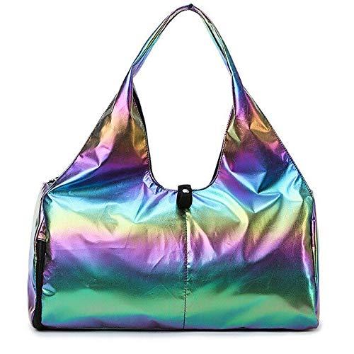 Yoga-Matten-Taschen für Fitness-Sack De Sport, trocken nass Sporttasche, Schultertraining, Gymtas, Bolsa Deporte, Handtaschen Bolsa XA616WA, glitzernd, bunt