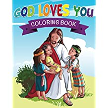 God Loves You Coloring Book (Religious Coloring and Art Book Series)