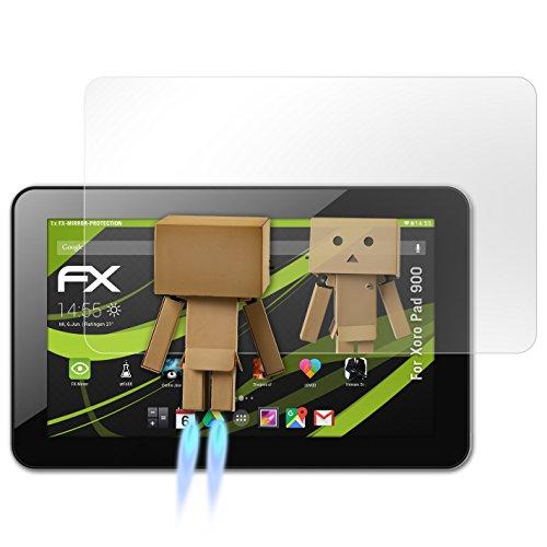 atFolix Bildschirmfolie für Xoro Pad 900 Spiegelfolie, Spiegeleffekt FX Schutzfolie
