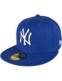 New Era Mlb Basic Ny Yankees 59Fifty Fitted Black/White - Casquette de Baseball - Homme
