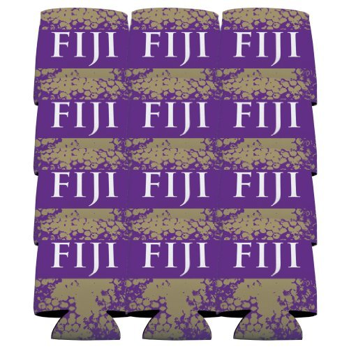 Cooler Set of 12 - FIJI & Grunge Design by VictoryStore (Phi Gamma Delta)