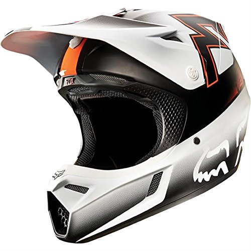 Casco-Mx-Fox-2015-V3-Franchise-Arancio-L-Bianco